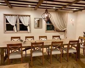 Dinner at Viraaida (ヴィラ・アイーダ)