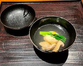 Dinner at Ryokan Fufu Nara