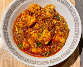 rice and mapo tofu