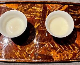 杏仁豆富 Almond tofu (Hot and Cold)