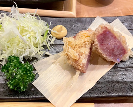 tokatsu served by the piece