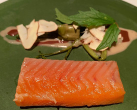 Dinner at L'Argine a Vencó