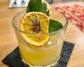 Non-alcoholic Mai-tai cocktail