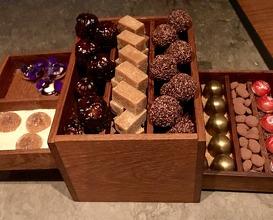 """Bento box with """"fika"""""""