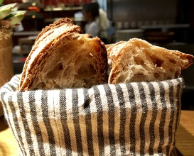 The sour dough and butter
