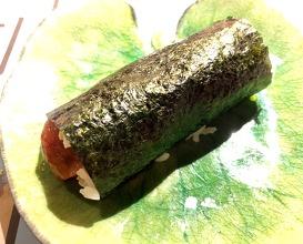 Temaki of tuna