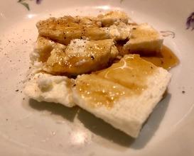 """Mató"" with fennel honey"
