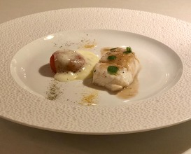 Turbot fish with camone tomato