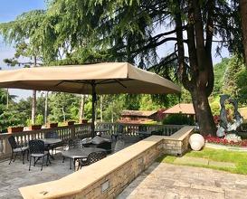 Reception, exterior, restaurant