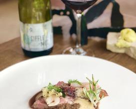 Lamb, crevette blanche and fennel