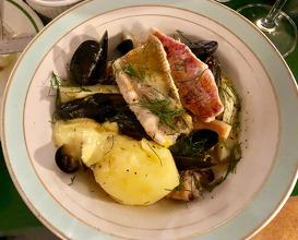 Fish stew, fennel, saffron, aioli