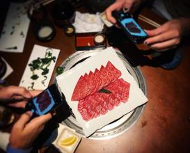 Dinner at Yoroniku EBISU 蕃