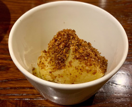 Mash potato to go with bread