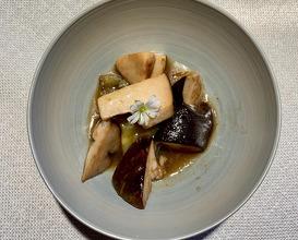 Mushroom and eggplant