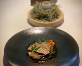 Dinner at Da Terra at Town Hall Hotel