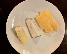 Cheese Plate £12 Old Groendal, Tunworth, Dorstone Unpasteurised