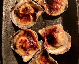 Gratinated clams