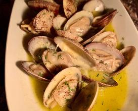 Sautéed clams