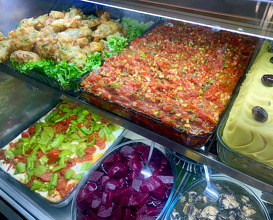 Go to the kitchen and choose your own mezze