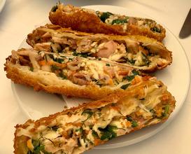 Seafood börek
