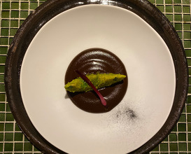 Avocado and mole made from 70 Ingredients