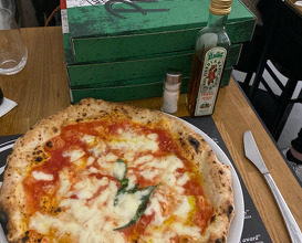 Dinner at 50 Kalò di Ciro Salvo Pizzeria London