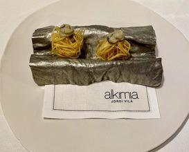 Dinner at Alkimia