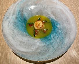 Scallops Olive Oil Sud Grapefruit
