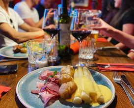 Dinner at Jan Tabac Vegesack