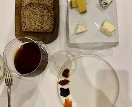 Dinner at Château de la Chèvre d'Or