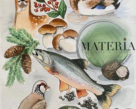 Dinner at Materia ristorante