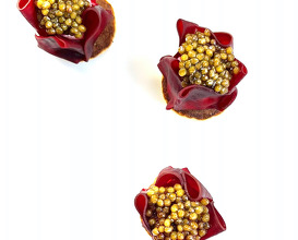 beetroot and caviar