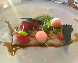 Dinner at Tokara Restaurant