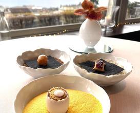 Dinner at La Table du Lausanne Palace