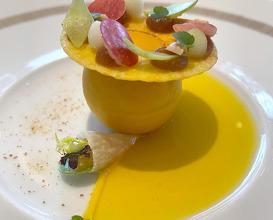 Dinner at Le Restaurant de l'Hôtel de Ville de Crissier