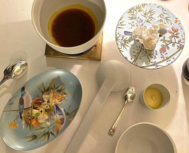 Dinner at Badrutt's Palace Hotel