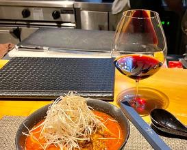 Wine dinner at Aligoteur~Que du bonheur~