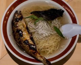 Dinner at 鮎ラーメンプラス