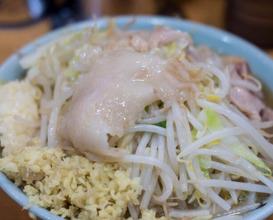 Dinner at ラーメン二郎野猿街道2号店