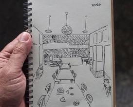 Dinner at Mezze Portugal by Pão a Pão - integração de refugiados do Médio Oriente