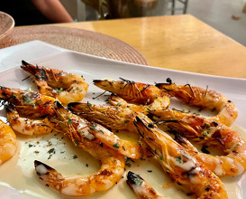 Dinner at Aelia Bar Restaurant & Beach Lounge