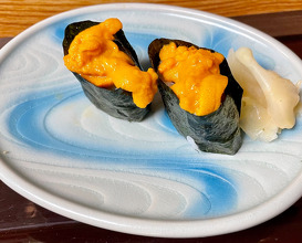 Dinner at Narazushi (なら鮨)