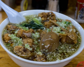 Dinner at 珉珉(みんみん)
