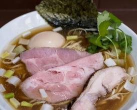 Dinner at 中華そば うお青