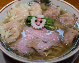 Dinner at キング製麺