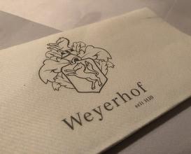 Dinner at Weyerhof