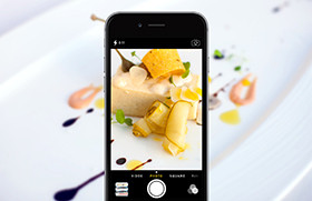 Collect your food experience in photos.