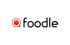 Foodle logo in a print friendly format.