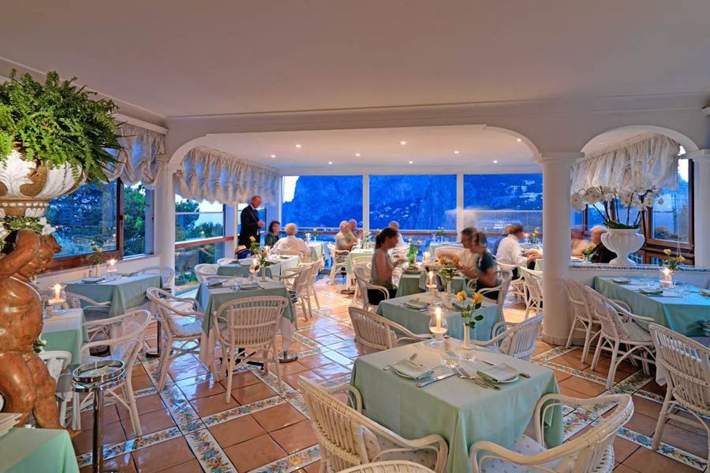 Restaurant Terrazza Brunella Capri Reviews Photos